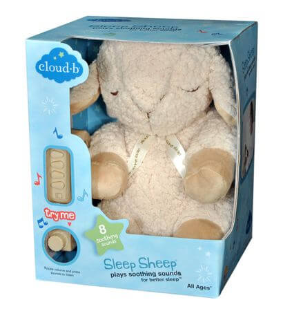 Cloud b Sleep Sheep Packaging