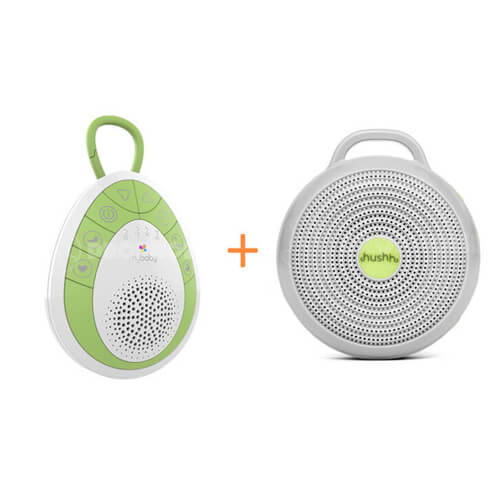 Double-Joy-Bundle-mybaby-SoundSpa-On-The-Go-and-Marpac-Hushh-Sound-Machine-for-Baby
