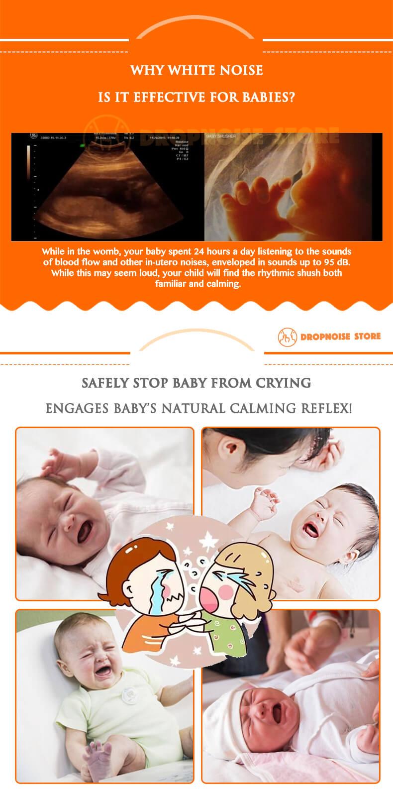 Baby Shusher - Dropnoise Store (2) Logo