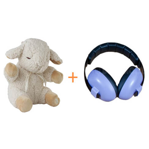 Adorable-Baby-Bundle-Cloud-b-Sleep-Sheep-Baby-Banz-Infant-Hearing-Protection-Earmuff