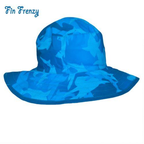 NNS007E-FF-1-BabyBanz Baby Fin Frenzy UV Reversible Hats - dropnoise