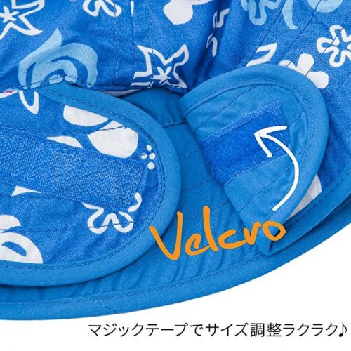 NNS007E-FF-3-BabyBanz Baby Fin Frenzy UV Reversible Hats - dropnoise