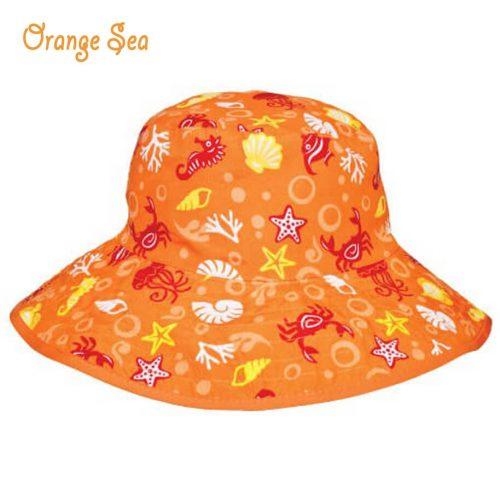 NNS007E-OS-1-BabyBanz Baby Fin Frenzy UV Reversible Hats - dropnoise