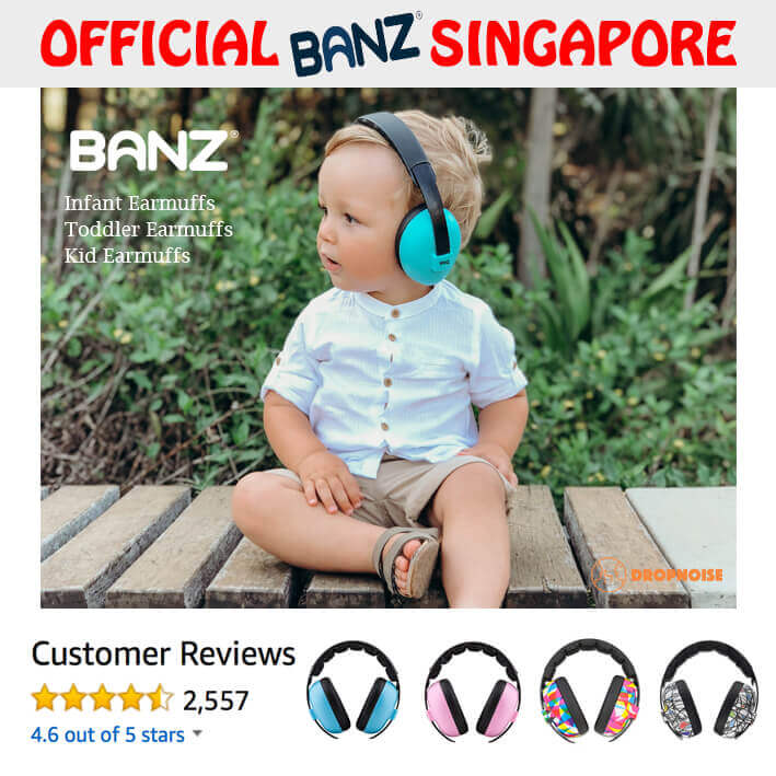 a6a9b802ef9 Baby Banz Infant & Baby Hearing Protection Ear Muffs, 0-2 Years Old ...