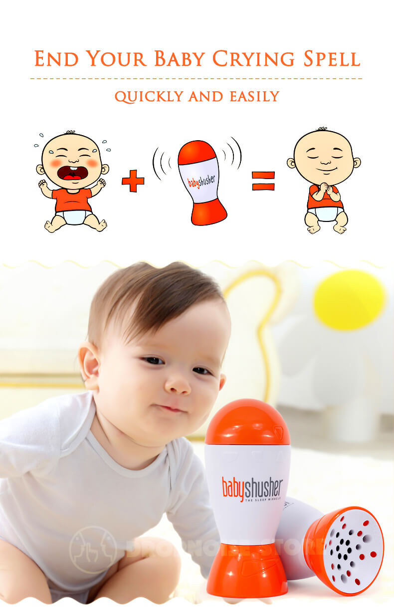 Baby Shusher The Soothing Sleep Miracle For Babies