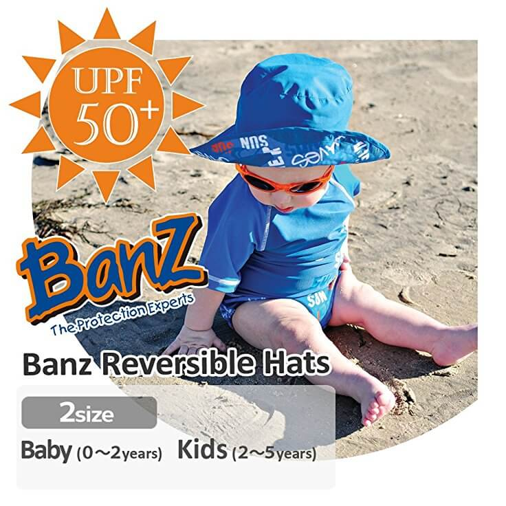 Baby Banz Reversible Hats - Dropnoise