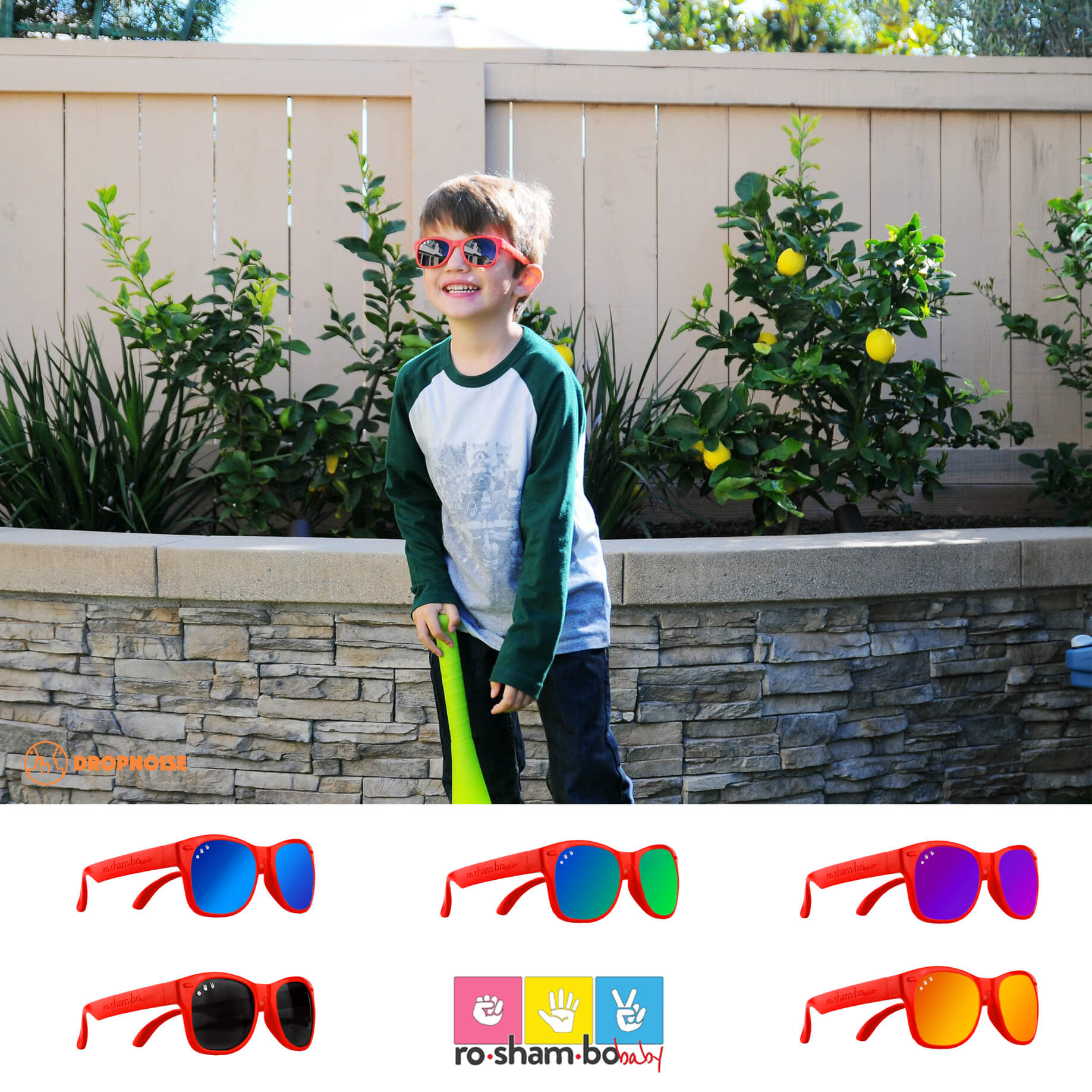 32a5cbb890 Roshambo Mcfly Junior Shades
