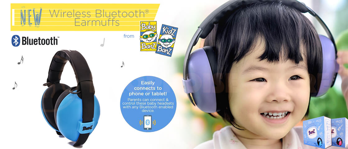 Baby Banz Bluetooth Baby Earmuff Poster Dropnoise Store Singapore
