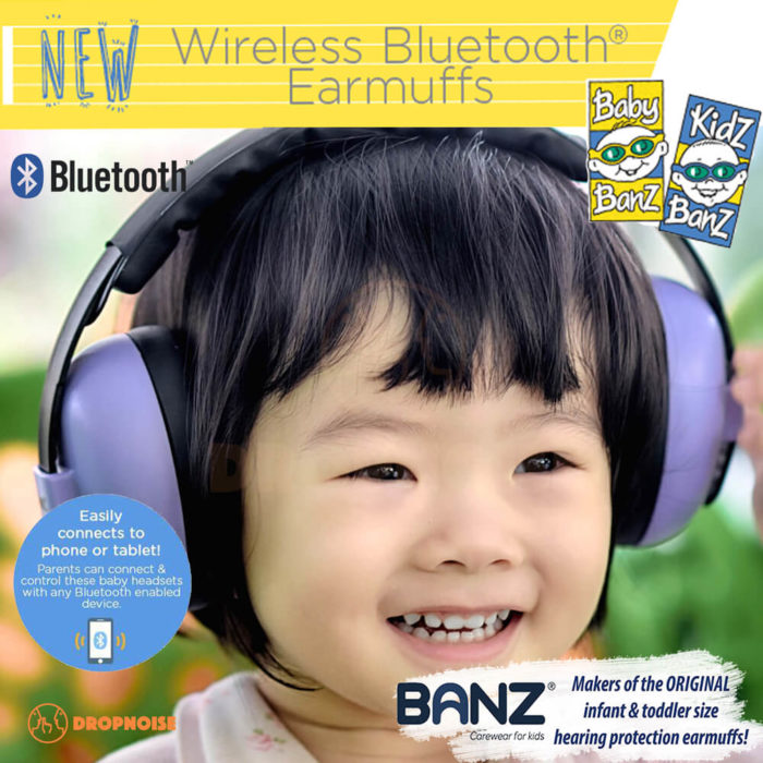 022d24c0ec Baby Banz Bluetooth Infant   Baby Earmuffs Hearing Protection