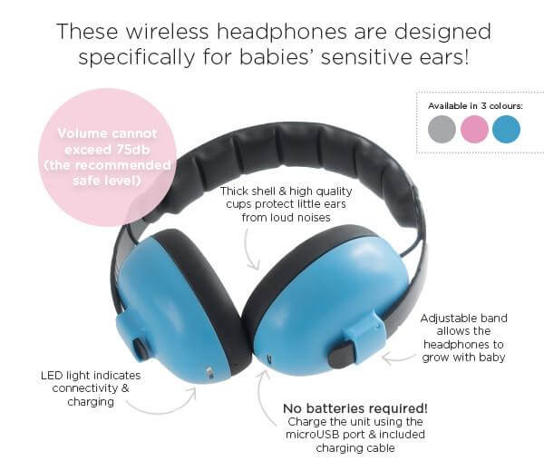 fac30be691 ... SOFT HEAD BAND and cushion cups ensure comfort for little one. nns001e- baby-banz-infant-hearing-protection-earmuff-dropnoise- ...
