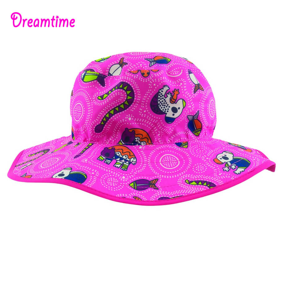 bbba74a6 ... Fin Frenzy UV Reversible Hats - dropnoise BabyBanz Baby Dreamtime UV  Reversible Hats