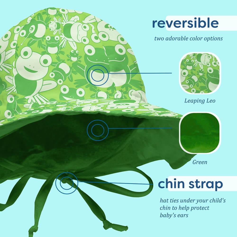 1313cb41 My Swim Baby Reversible UV Protection Sun Hats | Dropnoise Store