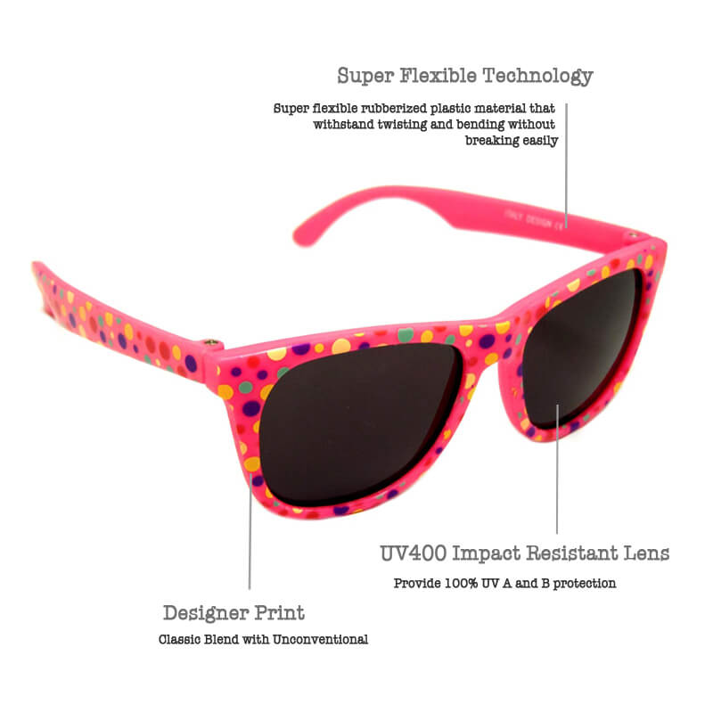b97d31217770 My First Sunglasses - Wayfarer 100% UV Polarised Sunglasses (1 to 2 ...